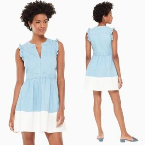 Kate Spade Dip Dye Denim Dress